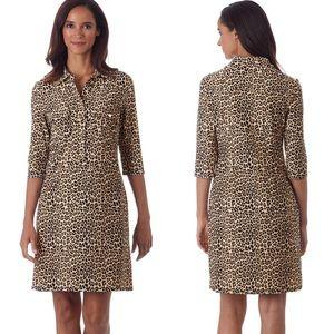 Jude Connally Sloane Dress - Mini Leopard Camel